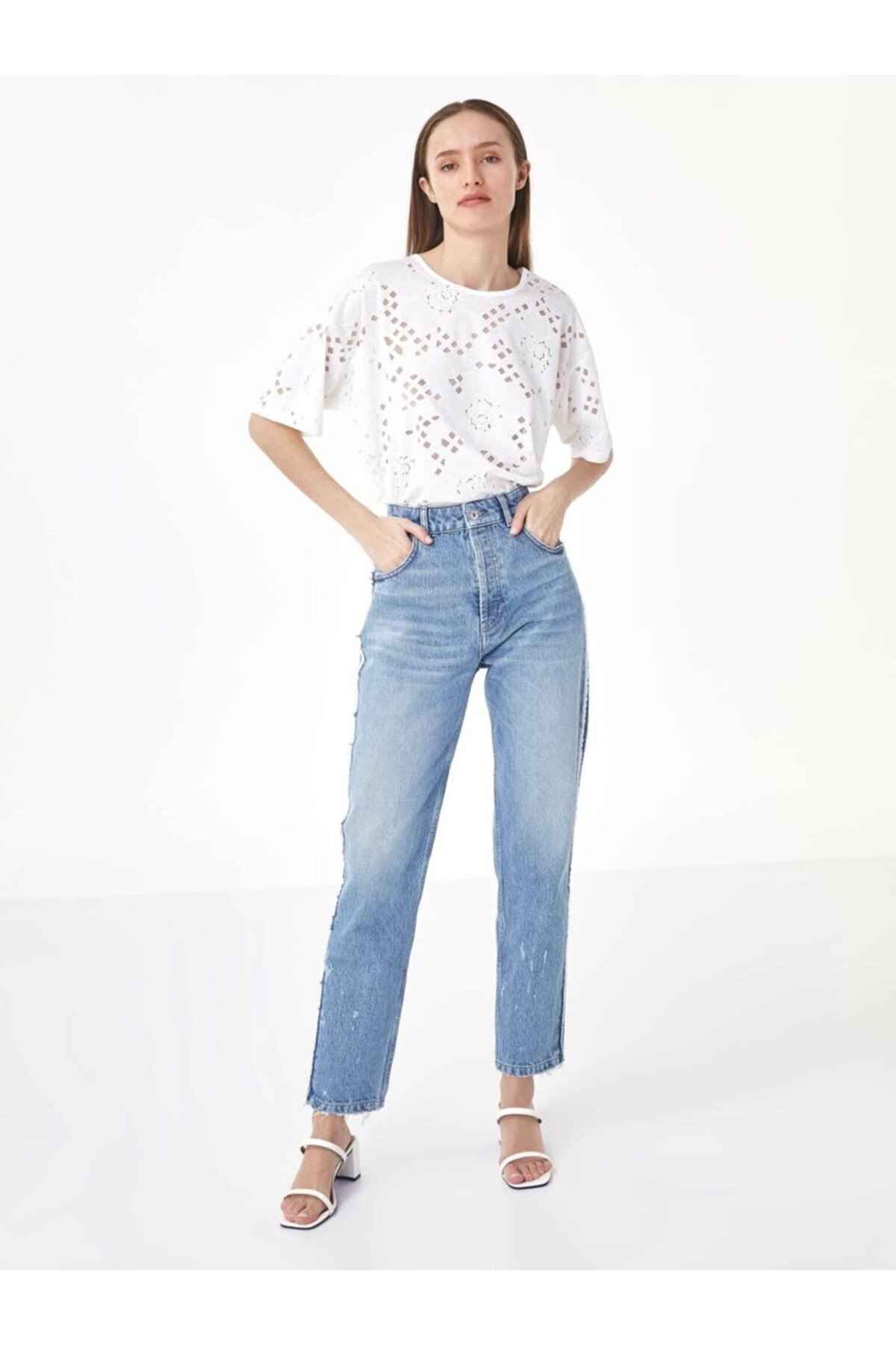 Twist Kadın Beyaz Beyaz İş Tshirt TS1200070162002 2
