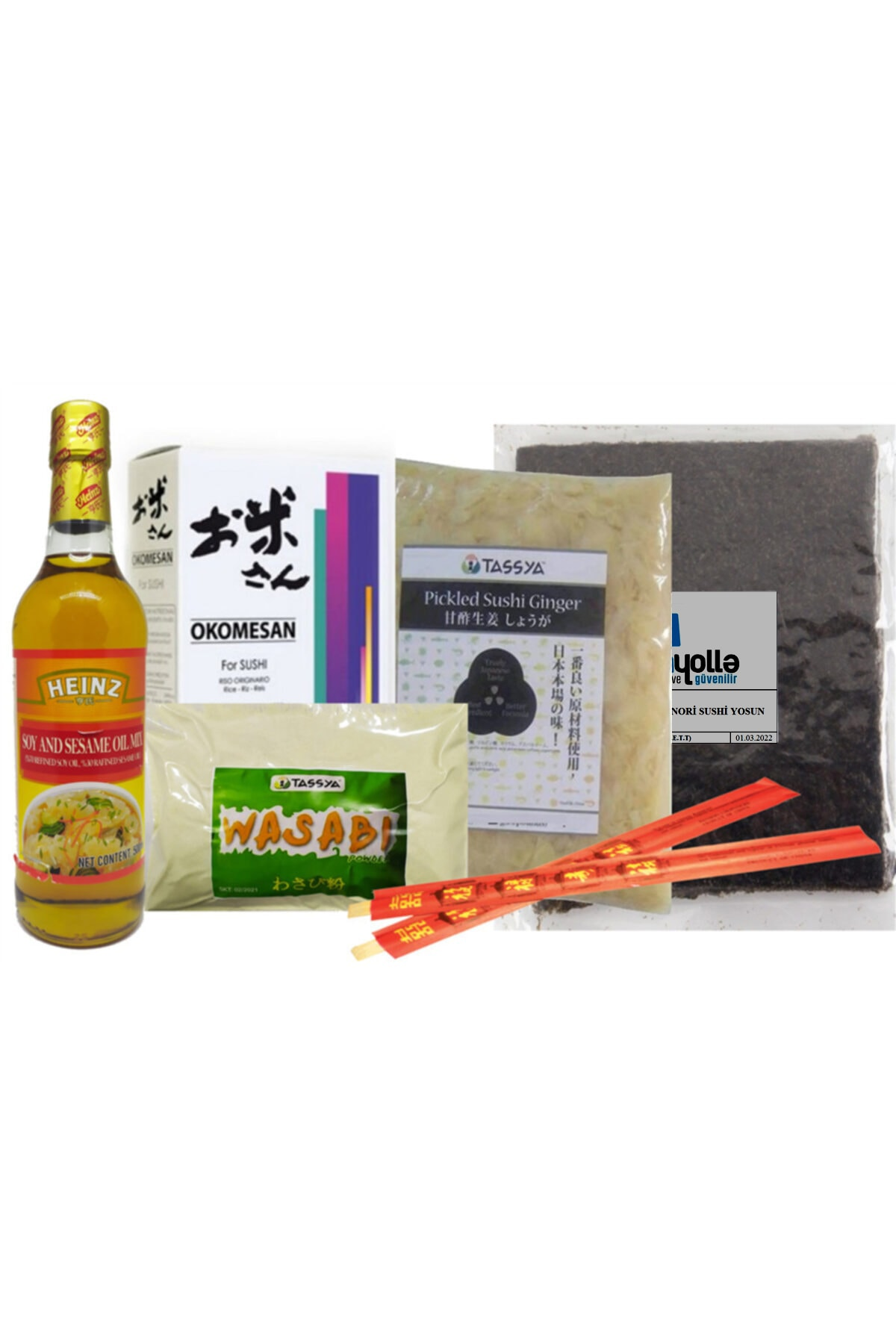 Heinz Sushi Seti 6lı 1