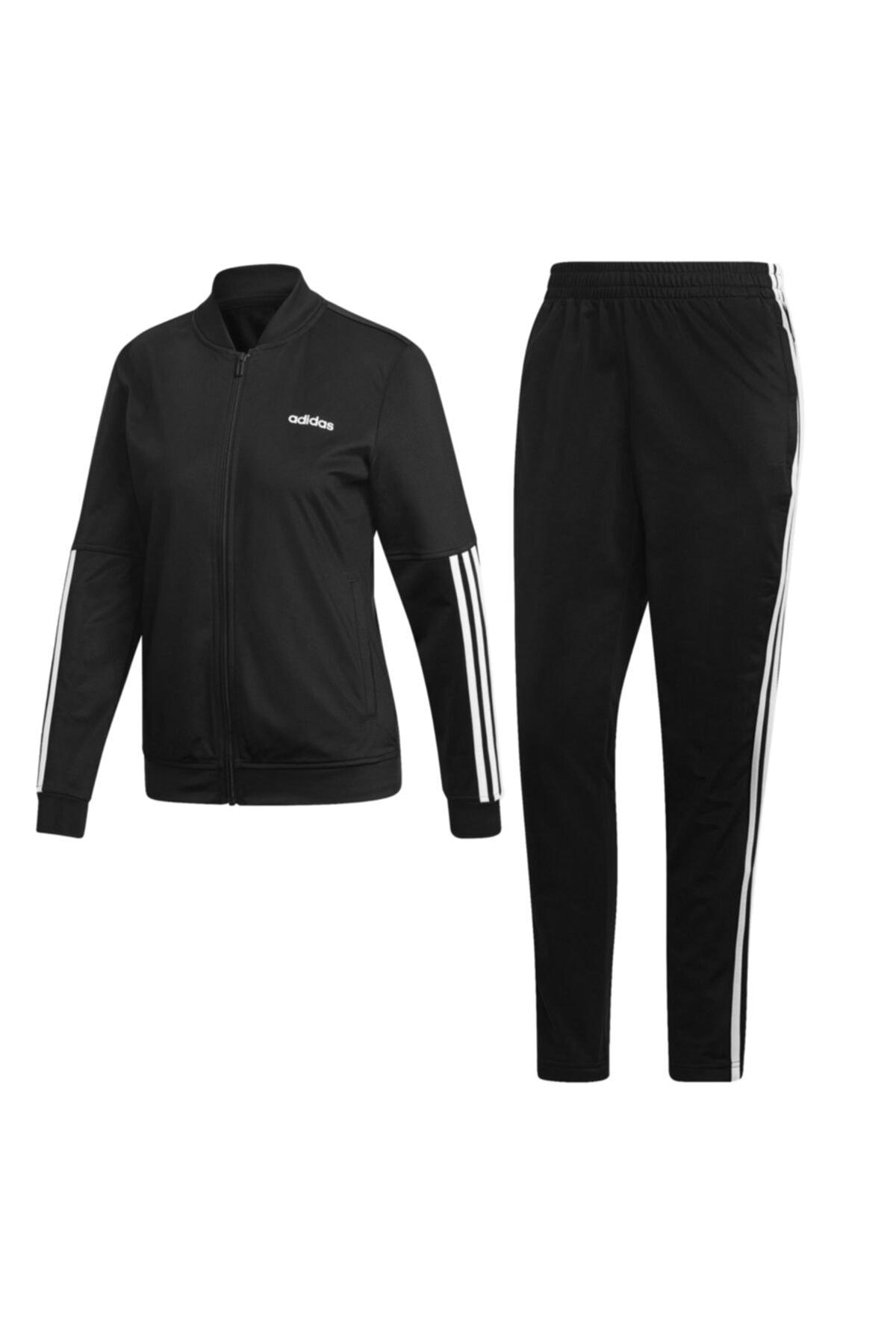 adidas Kadın Siyah Eşofman Takımı WTS BACK2BAS 3S 1