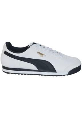 Puma Roma Basic Erkek Beyaz Günlük Ayakkabı 35357204