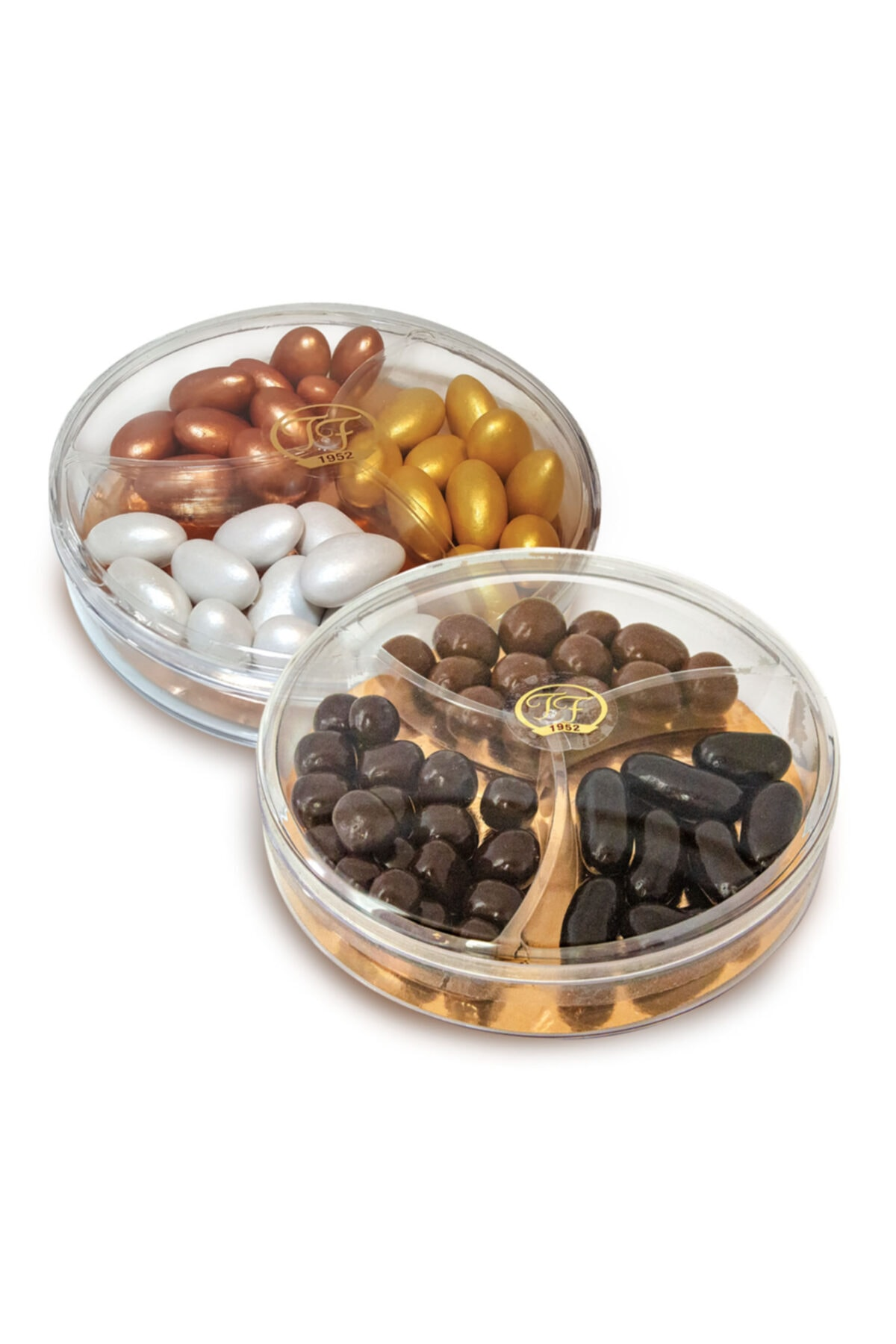 TAFE Sedefli Karışık Renkli Badem Ve Çikolatalı Mix Draje 120g X 2 1