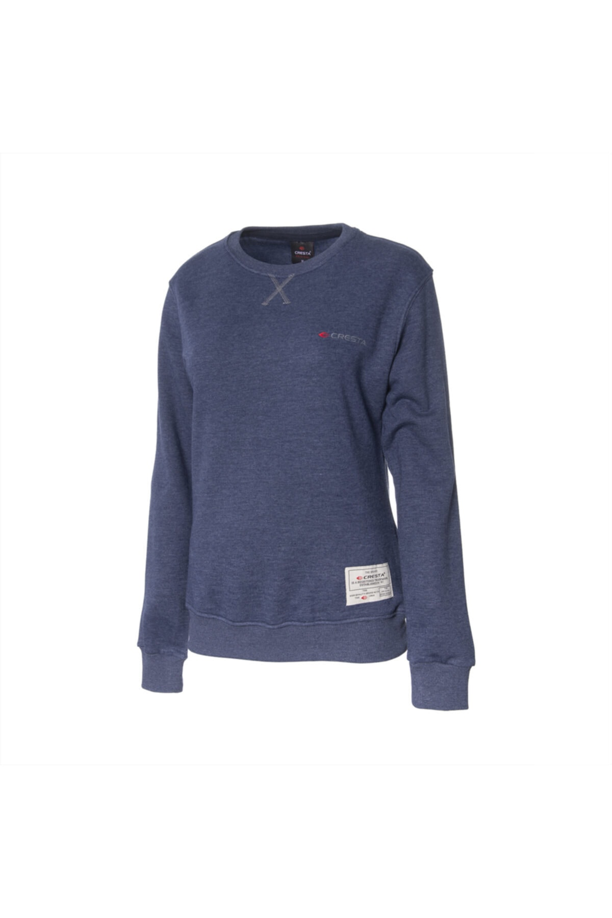 Cresta Kadın Lacivert Outdoor Basic Sweatshirt 1