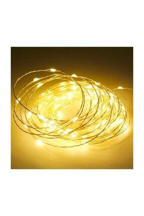 LETANG 10 Metre Peri Led Ince Tel Pilli Dekoratif Led Işık Süs