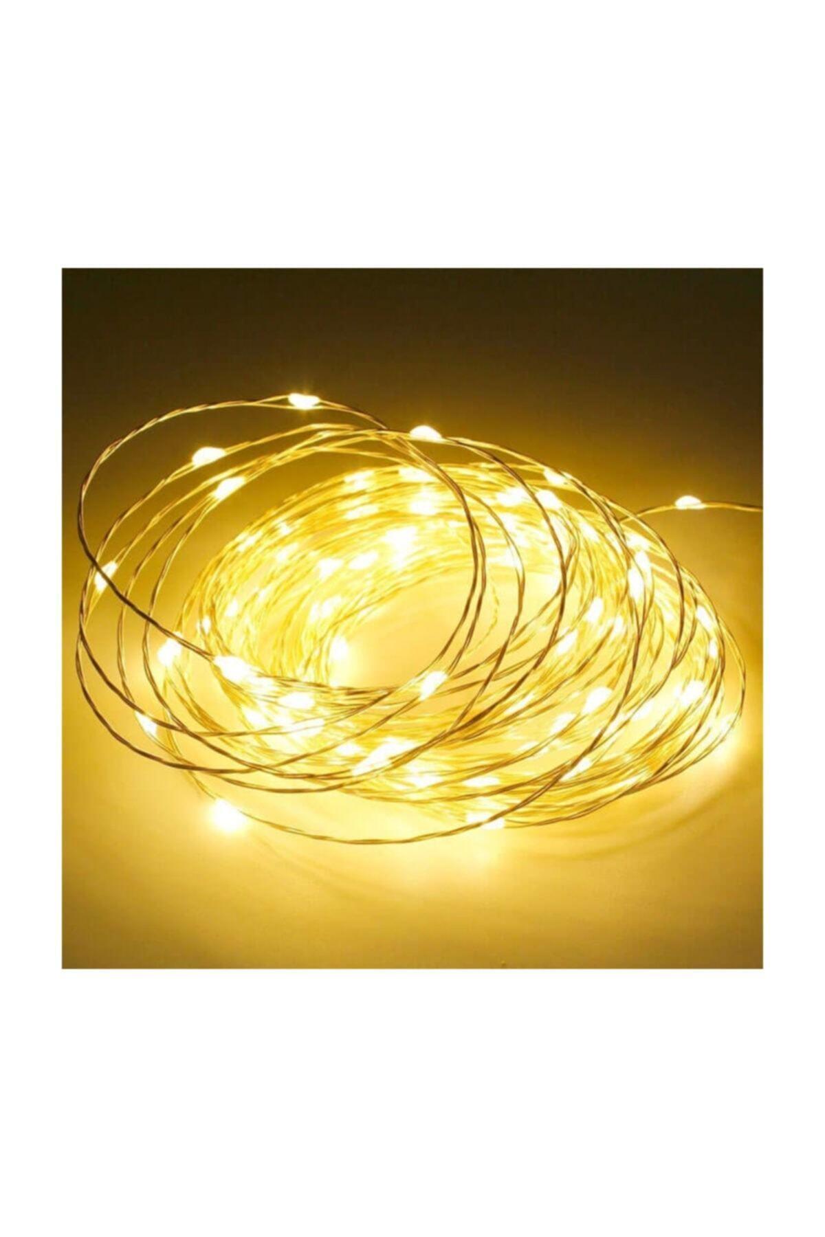 LETANG 10 Metre Peri Led Ince Tel Pilli Dekoratif Led Işık Süs 1