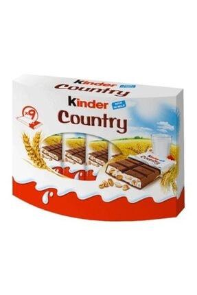 Kinder Country Milch Und Cerealien 9 Riegels