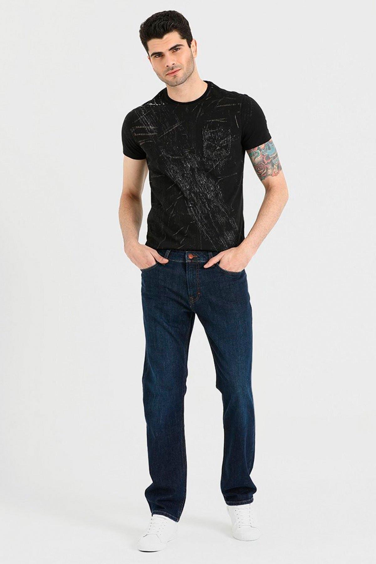 APAYDIN A.Ş Erkek Lacivert Jeans 1