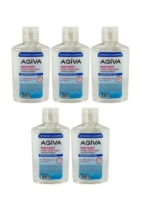 Agiva Antibakteriyel El Temizleyici Jel 250ml 5 Adet