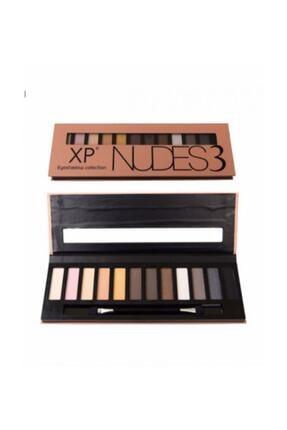 XP Nudes3 12 'li Far Paleti Eyeshadow Collection 868033174856126