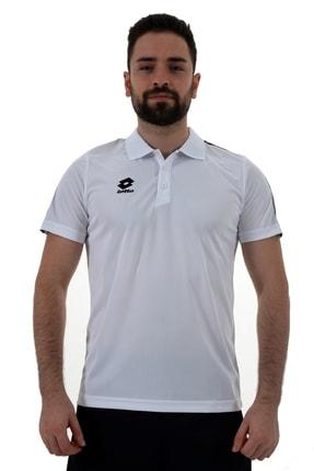 Lotto Erkek Beyaz Polo T-shirt Athletıca Polo Camp Pl-r8943