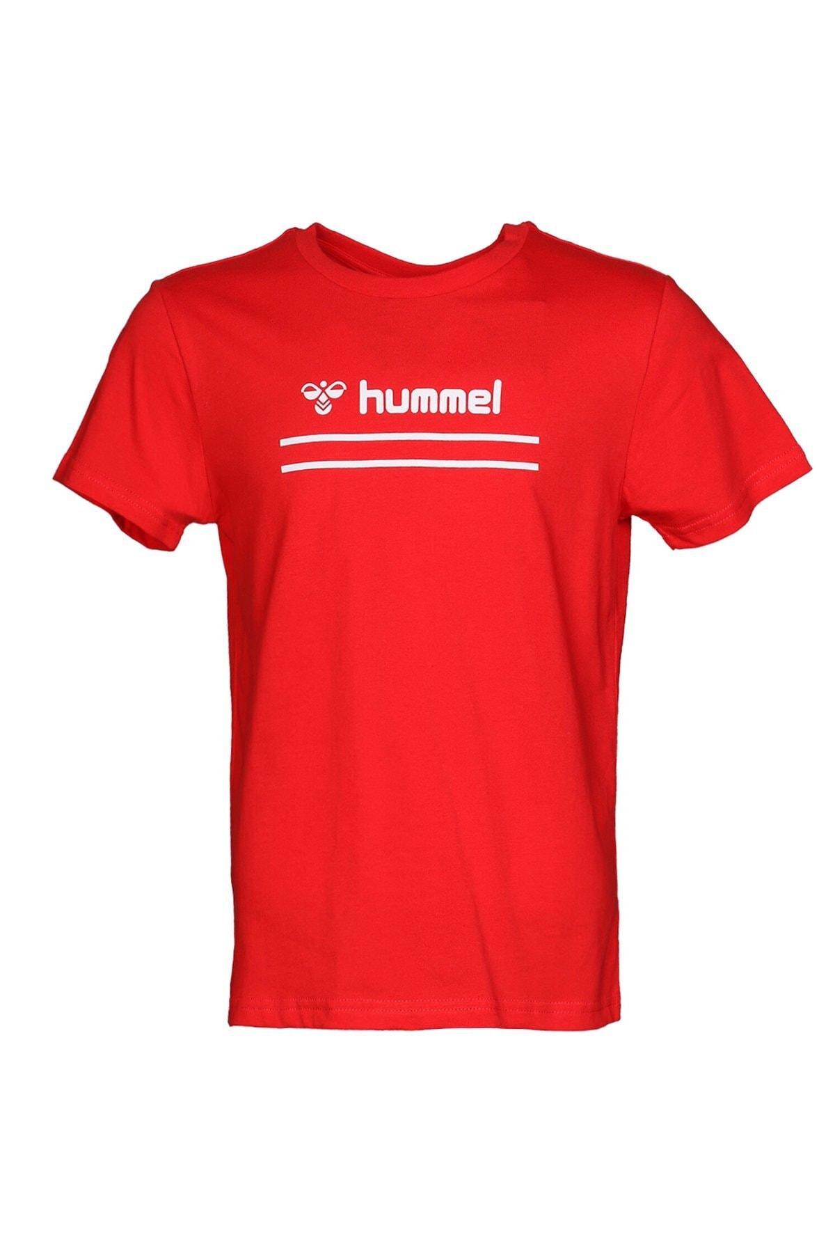 HUMMEL Kız Çocuk Kırmızı Kısa Kollu T-Shirt 2