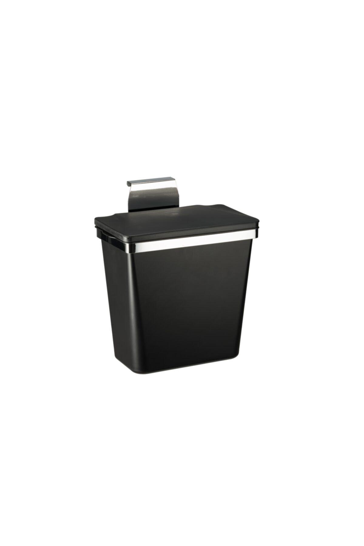 Pelikan Metal Askılı Mutfak Çöp Kovası-siyah 11 Lt 1