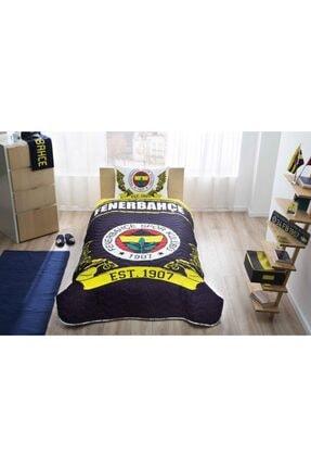 Taç Fenerbahçe Logo Lisanslı Yatak Örtüsü Seti - Tek Kişilik