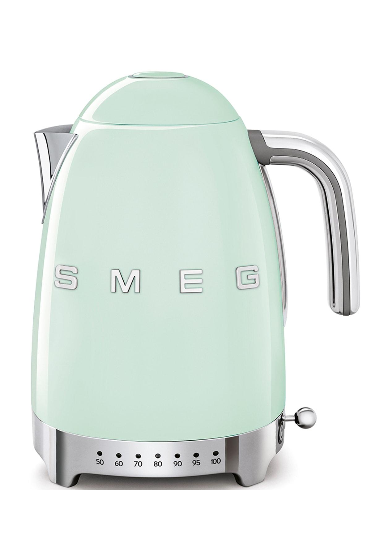 SMEG Isı Ayarlı Pastel Yeşil Otomatik Kettle Klf04pgeu 1
