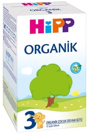 Hipp 3 Organic Devam Sütü 600 gr