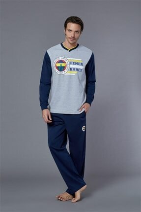 ROLY POLY Erkek Lisanslı Uzun Kol Pijama Takımı 8563