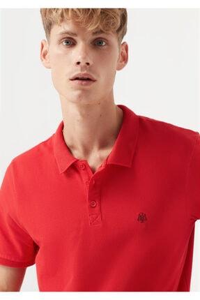 Mavi Kırmızı Polo Tişört