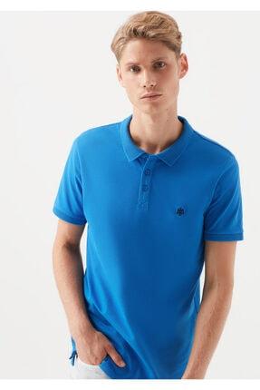 Mavi Polo Tişört