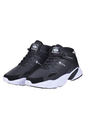 MP Erkek Siyah Yürüyüş Koşu Basket Ayakkabısı 202-1401