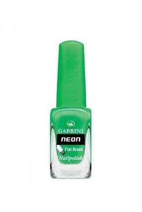 Gabrini Yeşil Neon - Flat Brush Oje  07 6 ml 8696814062079