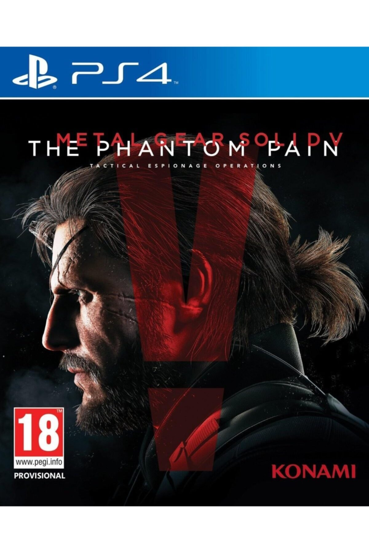KONAMI Ps4 Metal Gear Solıd 5 The Phantom Paın 1