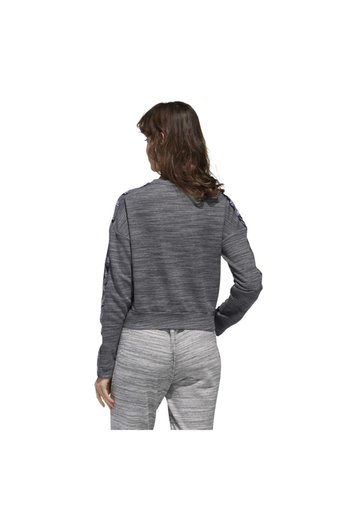 adidas Kadın Gri Essentials Tpe Sweatshirt 2