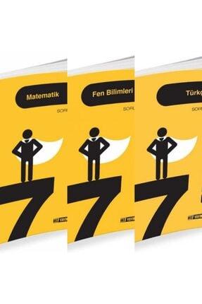 Hız Yayınları (hediyeli) Hız 7.sınıf Matematik-fen-türkçe Soru Bankası Seti+test Kitabı