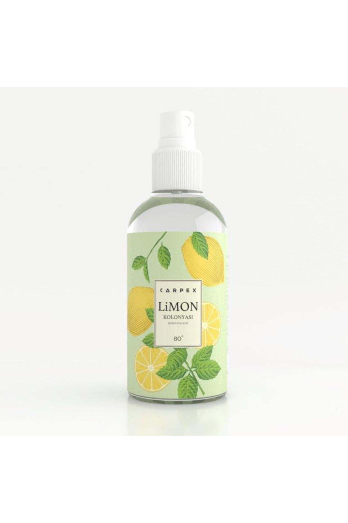 Carpex Limon Kolonyası Sprey 100 Ml - 80° Kolonya 1
