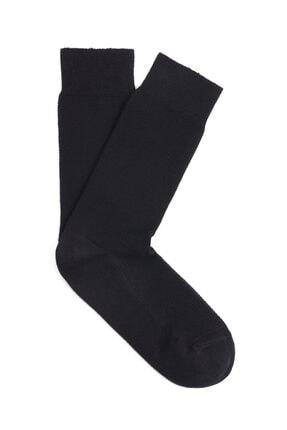 Mavi Siyah Uzun Soket Çorap 091159-20933
