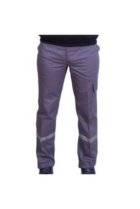 Çamdalı İş Elbiseleri - Iş Pantolon 16/12 Gabardin Gri Iş Pantolonu