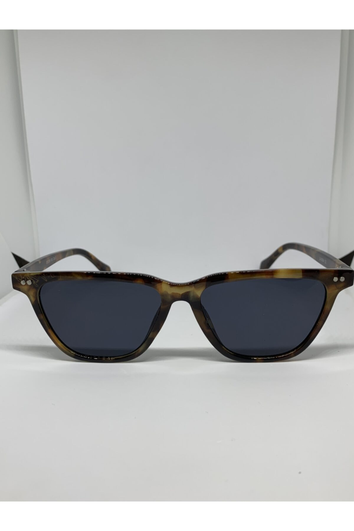 Toz Vintage Siyah Leopar Güneş Gözlüğü 1