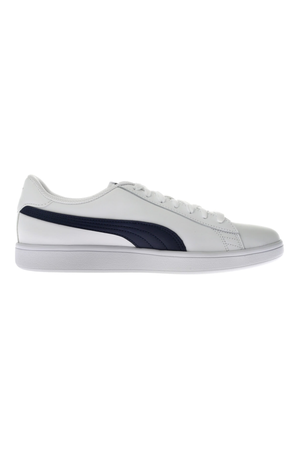 Puma Erkek Beyaz Smash V2 Leather Sneaker 2