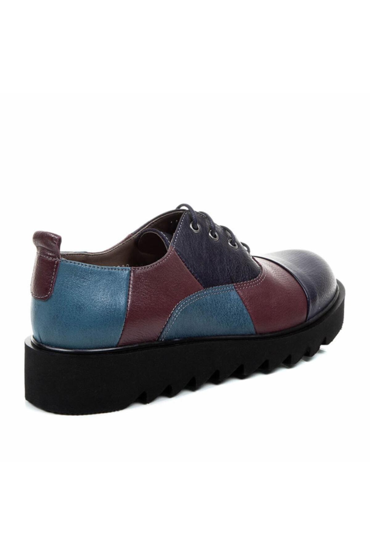 Beta Shoes Kadın Mor Ayakkabı 22-2030-829 2