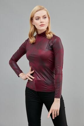 Journey Kadın Bordo Bluz