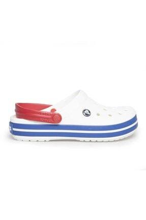 Crocs Unisex Beyaz Sandalet  Crocband Sandalet 11016-11I