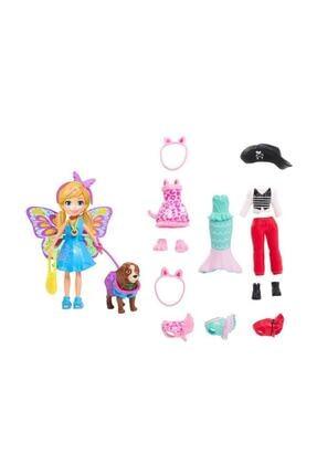 Polly Pocket Polly Rocket Ve Hayvan Dostu Kostüm Giyiyor Oyun Seti