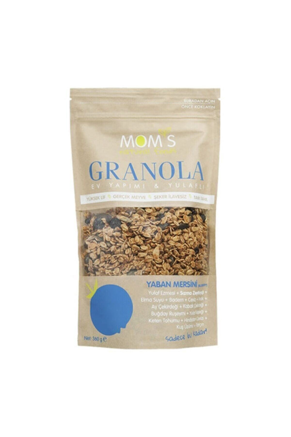Mom's Natural Foods Yaban Mersinli Granola 360 g 1