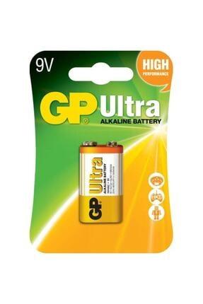 GP Batteries Gp Ultra Alkalin Tekli 9v Kare Pil (Gp1604au-u1)