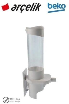 Arçelik Beyaz Bardak Tutucu Bardak Raf Tutucu Su Sebili Bardaklığı Su Pınarı Kağıt Bardak Dağıtıcısı