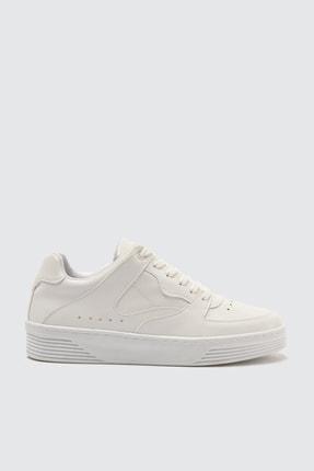 TRENDYOLMİLLA Beyaz Kadın Sneaker TAKSS21SN0022