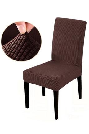 Bumedo Likralı Esnek Sandalye Örtüsü Yıkanabilir Lastikli Sandalye Kılıfı