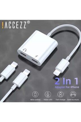 ucuzmi Iphone 12 11 X 8 7 Plus Ipad Lightning Uyumlu Kulaklık Ve Şarj Çevirici Dönüştürücü Çoğaltıcı Kablo