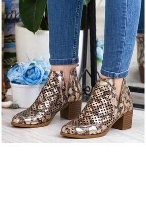Mammamia Kadın Dore Hakiki Deri Casual Ayakkabı 540 Zn