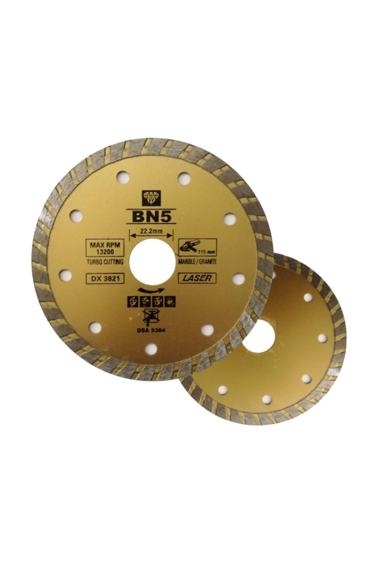 BN5 Ahşap Kesici Mermer Fayans Kesme 115 Mm Disk Seti Spiral Taşlama Kesici Diskleri 2