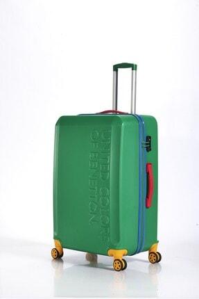 Benetton Bnta203x Abs Valiz Green Büyük Boy