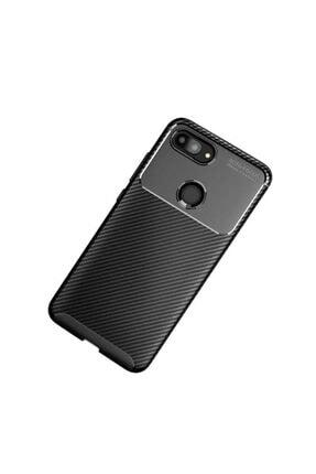 Xiaomi Mi 8 Lite Kılıf Karbon Fiber Tasarımlı Dayanıklı Negro Model
