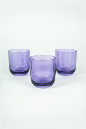 Rakle Intense 3'lü Su Bardağı Seti Mor 300 Cc