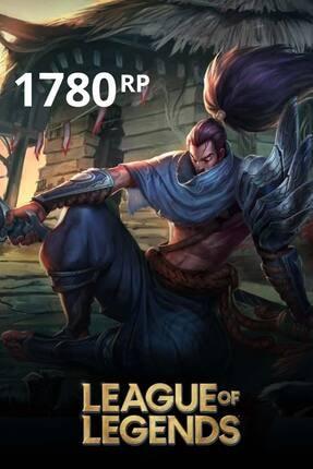 Riot Games League Of Legends 1780 Rp Tr
