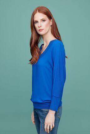 Journey Kadın Saks Mavi Bluz 19KBLZ753