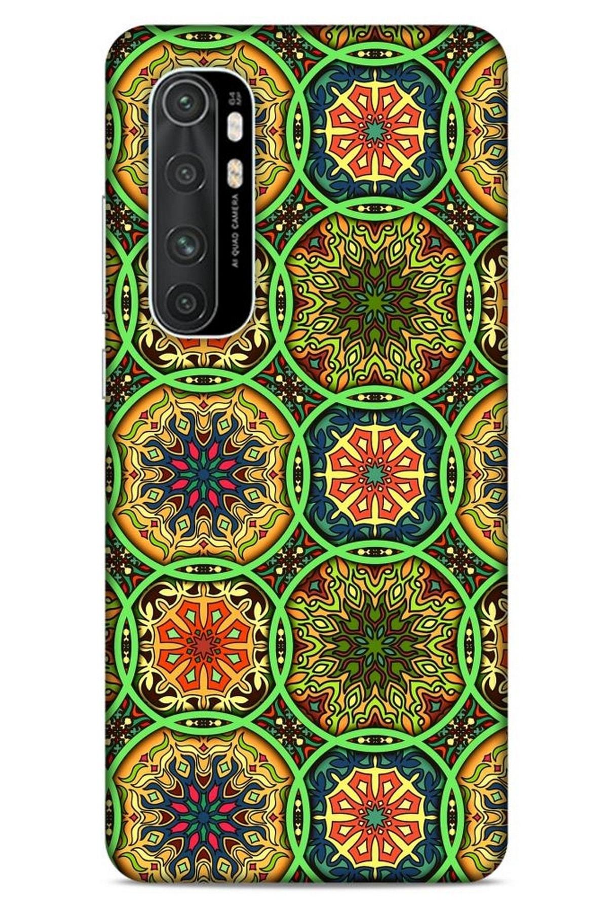 Lopard Ethnic Culture (97) Xiaomi Mi Note 10 Lite Kılıf Silikon Kapak Desenli 1