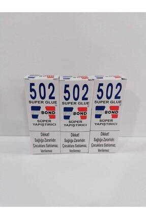 EvoBond Evo Bond 502 Japon Yapıştırıcısı 3'lü Set